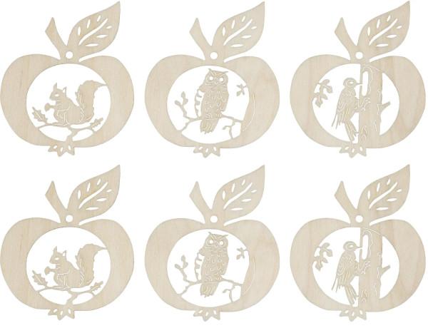 """Baumbehang """"Herbst Äpfel"""" 6 teilig"""