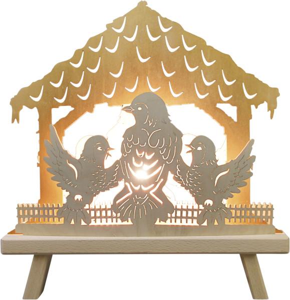 """3D window light """"Bird house"""""""