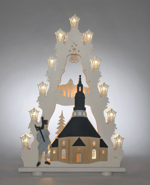 Lichterspitze XL Seiffener Kirche