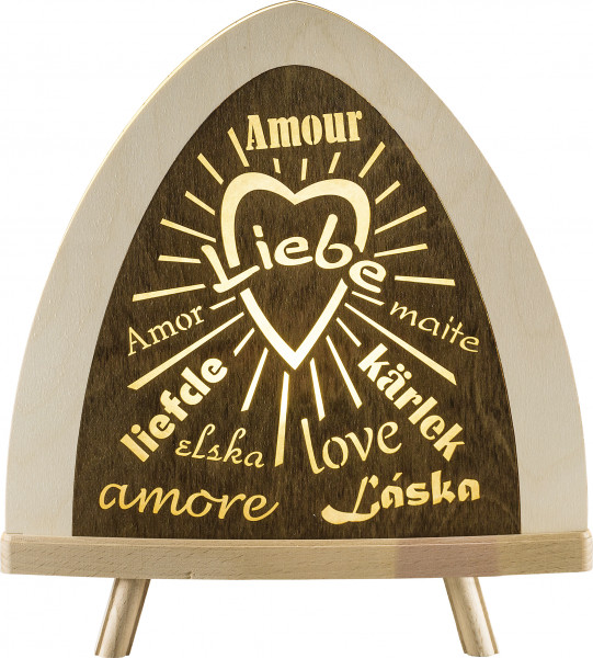 "Standleuchte ""Liebe"" LED"