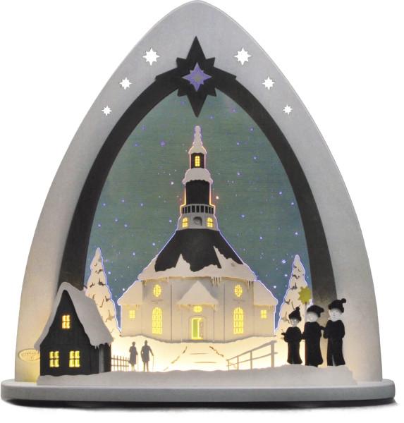 Lichterspitze LED Seiffener Kirche