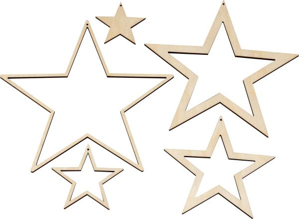 Dekohänger Sterne
