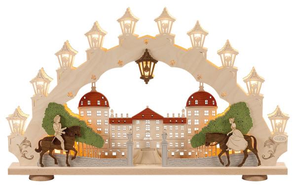 Schwibbogen 15 flammig Moritzburg