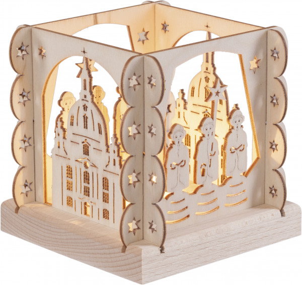 "Tealightholder ""Chruch of Our Lady"" for 1 tealight"