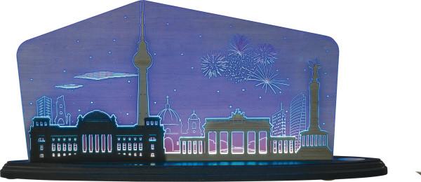 Motivleuchte Berlin bei Nacht