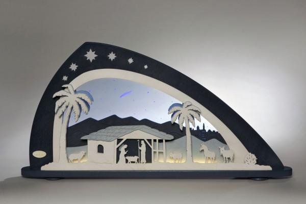 LED Schwibbogen Bethlehem