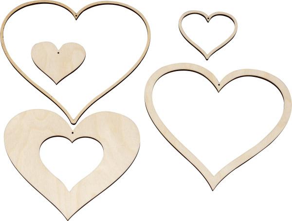 Dekohänger Herzen