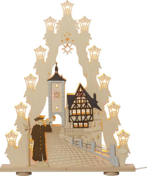 Lichterspitze 15 flammig Rothenburg ob der Tauber LS15RBT