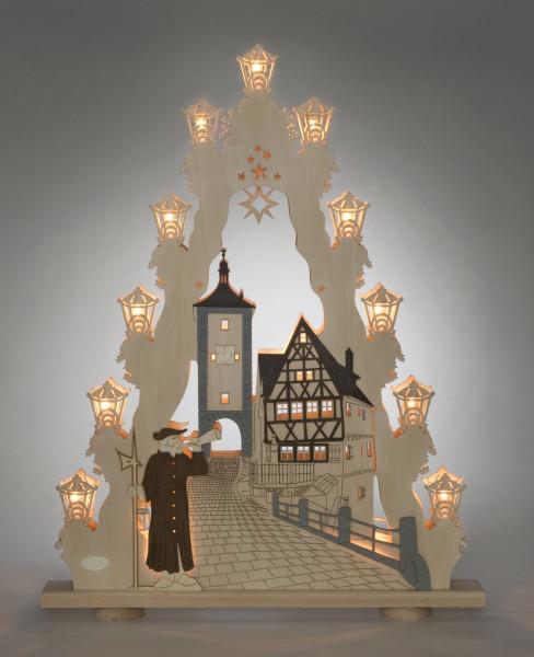 Lichterspitze groß Rothenburg ob der Tauber